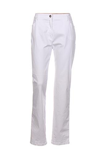 toni jeans femme de couleur blanc