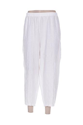 kokomarina pantacourts femme de couleur blanc