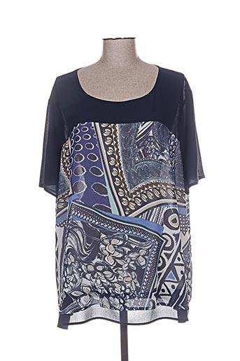 ko.moda chemises femme de couleur bleu