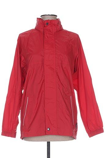 regatta manteaux fille de couleur rouge