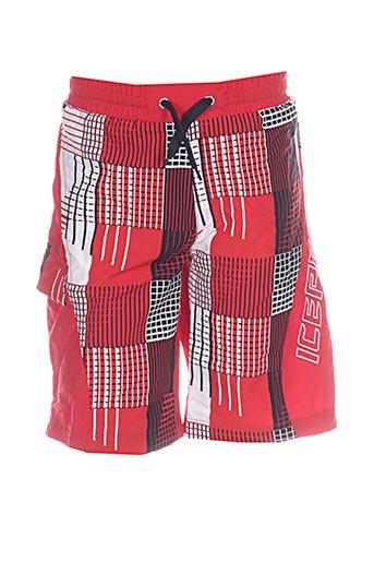 icepeak maillots de bain garçon de couleur rouge