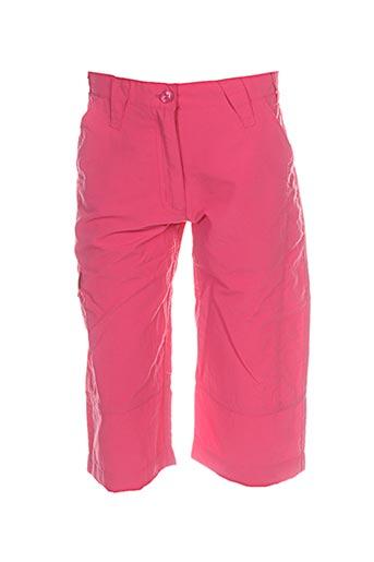 regatta pantacourts fille de couleur rose
