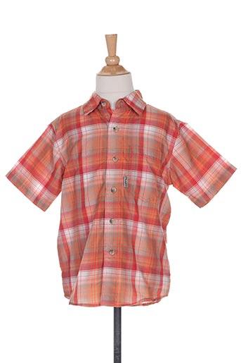 icepeak chemises garçon de couleur orange