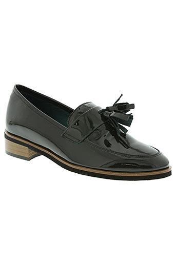karston chaussures femme de couleur vert