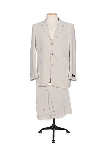 enzo carlito costumes homme de couleur beige