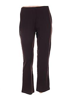Pantalon casual marron EPICEA pour femme