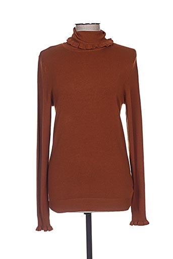 ichi pulls femme de couleur marron