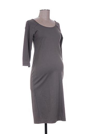 slacks EFFI_CHAR_1 co robes femme de couleur marron