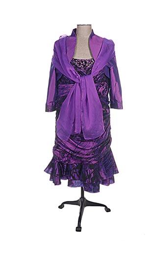 ellebeline ensembles femme de couleur violet