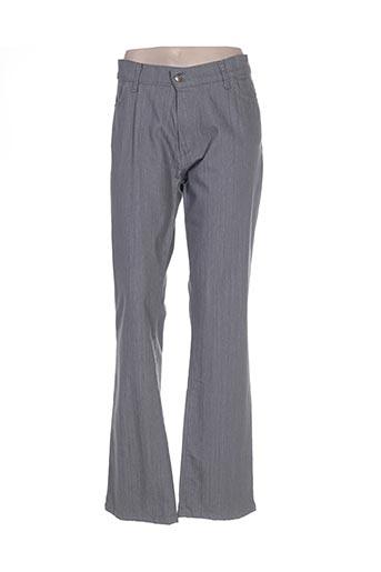 Jeans coupe droite gris COTE ANGLAISE pour femme