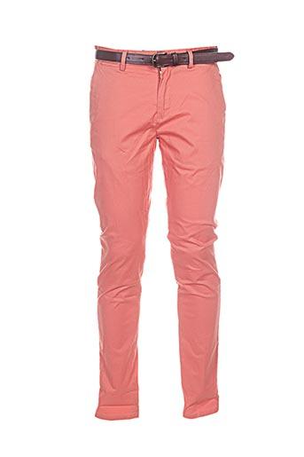 Pantalon casual orange SCOTCH & SODA pour femme