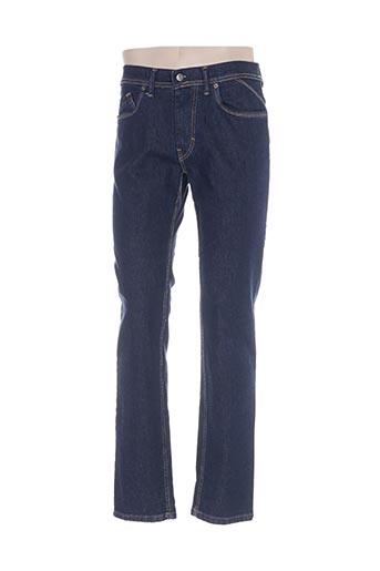 dario beltran jeans homme de couleur bleu