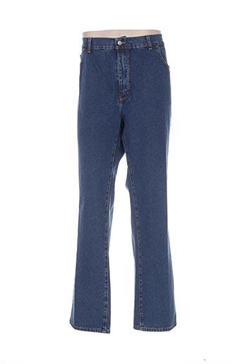 colt jean jeans homme de couleur bleu