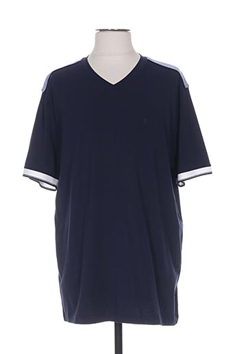 benny les hommes t-shirts homme de couleur bleu