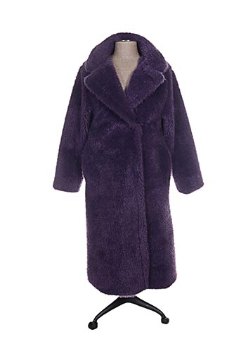 lumina manteaux femme de couleur violet