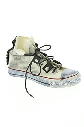ideal shoes chaussures femme de couleur blanc