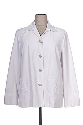 Veste casual gris ARIELLE pour femme