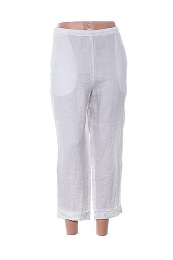 elemente clemente pantalons femme de couleur gris