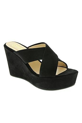 otess chaussures femme de couleur noir
