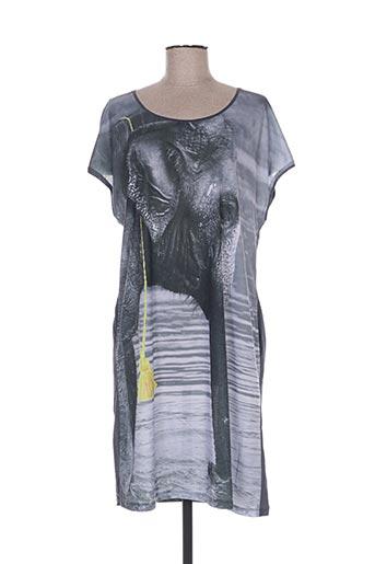 mia zia robes femme de couleur gris