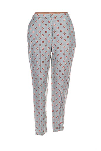 Pantalon casual gris NICE THINGS pour femme
