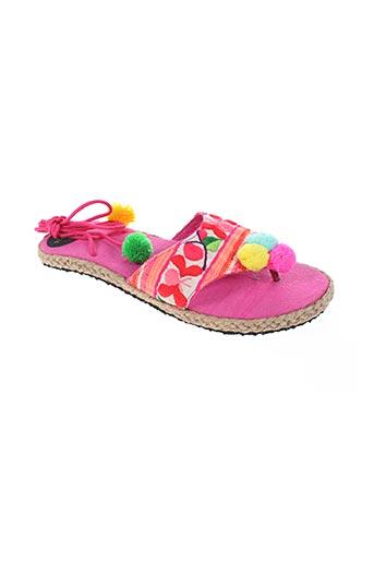 toscana chaussures femme de couleur rose
