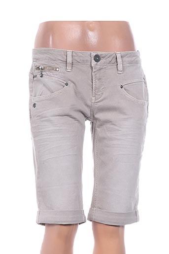 freeman t.porter shorts / bermudas femme de couleur gris