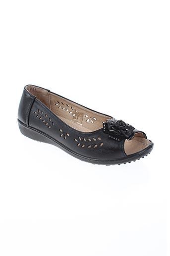 im chaussures femme de couleur noir