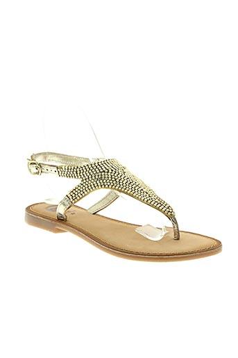 gioseppo chaussures femme de couleur jaune