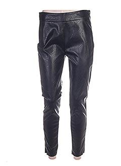 Pantalon casual noir ERMANNO SCERVINO pour femme