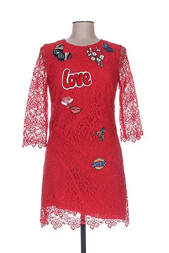 Robe courte rouge ERMANNO SCERVINO pour femme