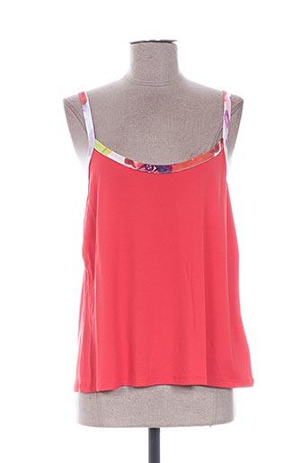 evalinka chemises femme de couleur rouge