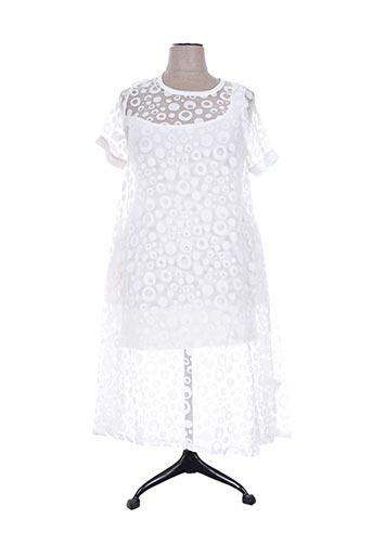gershon bram robes femme de couleur blanc