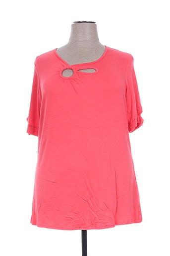 jean marc philippe t-shirts femme de couleur orange