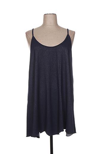 martine sam... chemises femme de couleur bleu