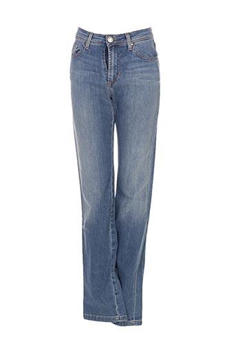 Jeans coupe droite bleu VOTRE NOM pour femme