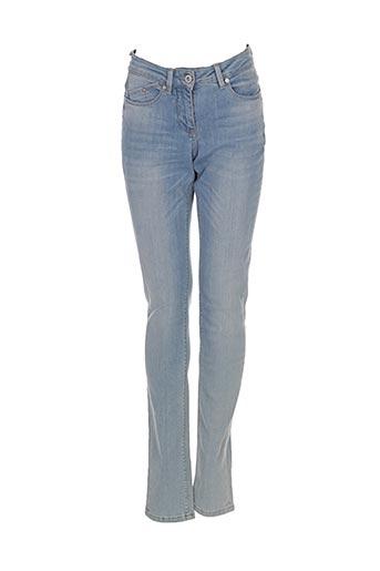 Jeans coupe slim bleu SANDWICH pour femme