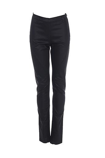 Pantalon casual noir SANDWICH pour femme