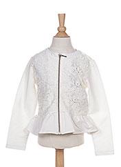 Veste casual blanc MAYORAL pour fille seconde vue