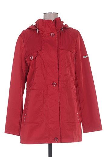 buretti manteaux femme de couleur rouge