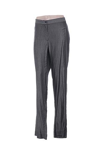 Pantalon casual gris ALAIN WEIZ pour femme
