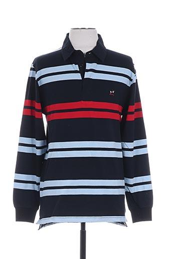 jezequel t-shirts homme de couleur bleu