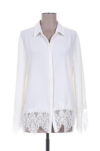 diego reiga chemises femme de couleur blanc