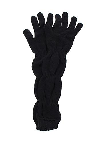 poussiere d'etole accessoires femme de couleur noir