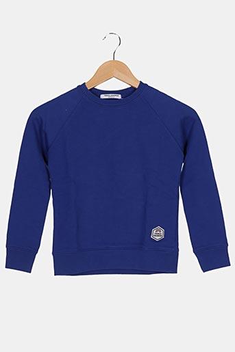 Sweat-shirt bleu FRENCH DISORDER pour enfant