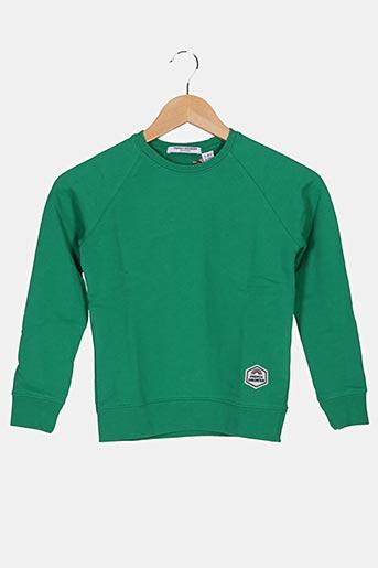 Sweat-shirt vert FRENCH DISORDER pour enfant
