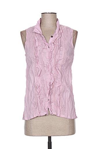 too katai chemises femme de couleur rose