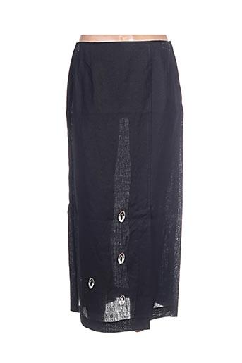 Jupe longue noir ELIXIR pour femme