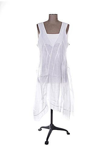 Robe mi-longue blanc ARTHURIO LINO pour femme
