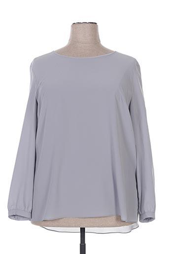 le comte chemises femme de couleur gris